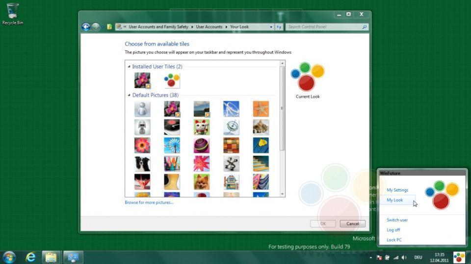 Build preliminar do Windows 8.