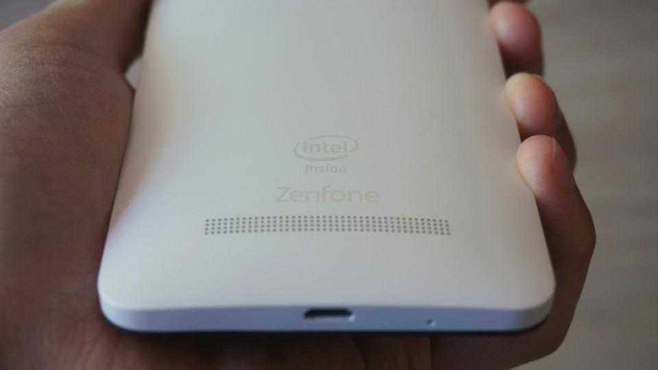 A marca da Intel no Zenfone 5.