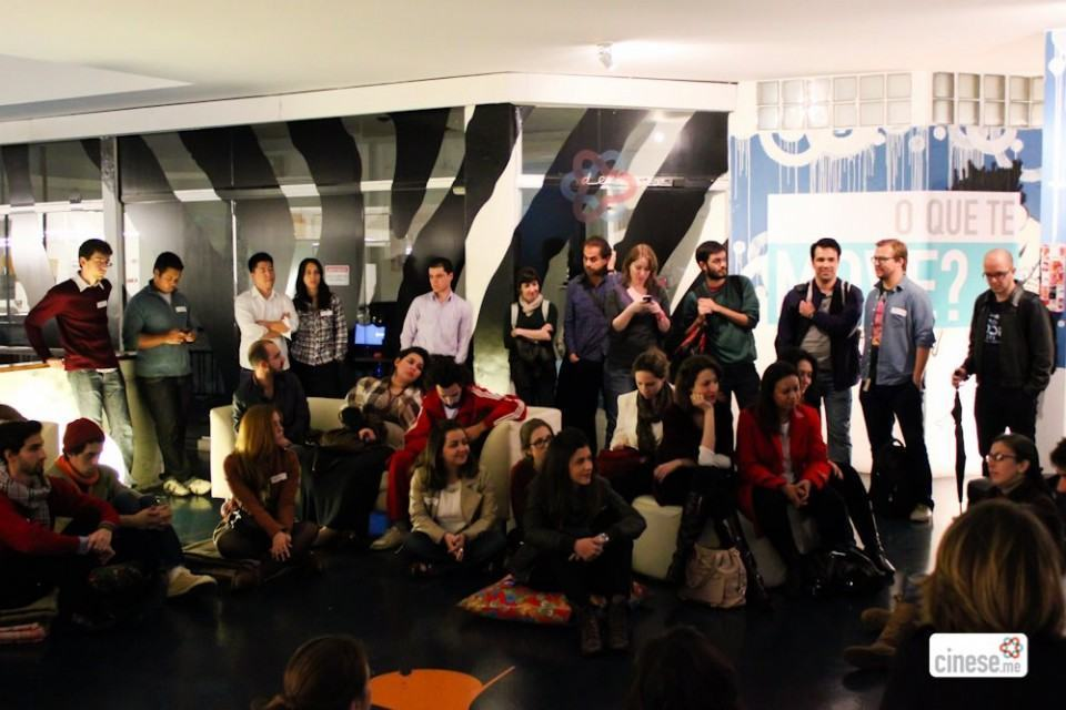 Foto de um encontro do Cinese.