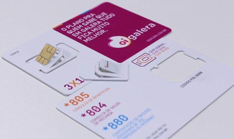 Nano, Micro ou Mini SIM, você escolhe.