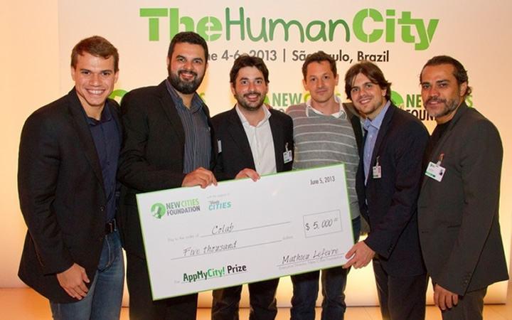 Colab, vencedor do AppMyCity!