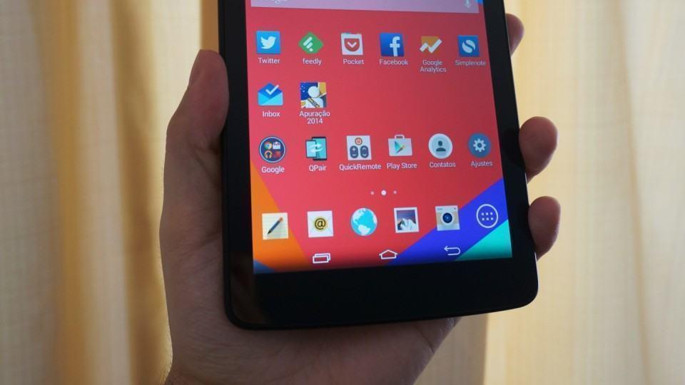 O Android é o mesmo do G3.