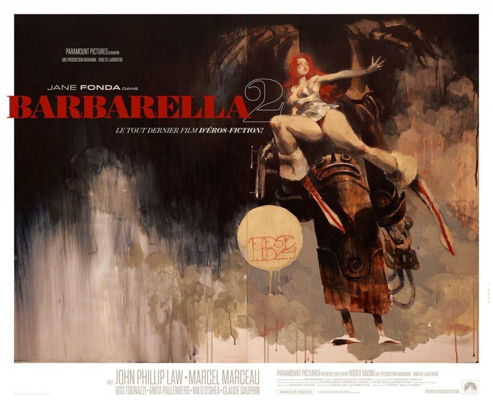 Pôster de Barbarella 2.