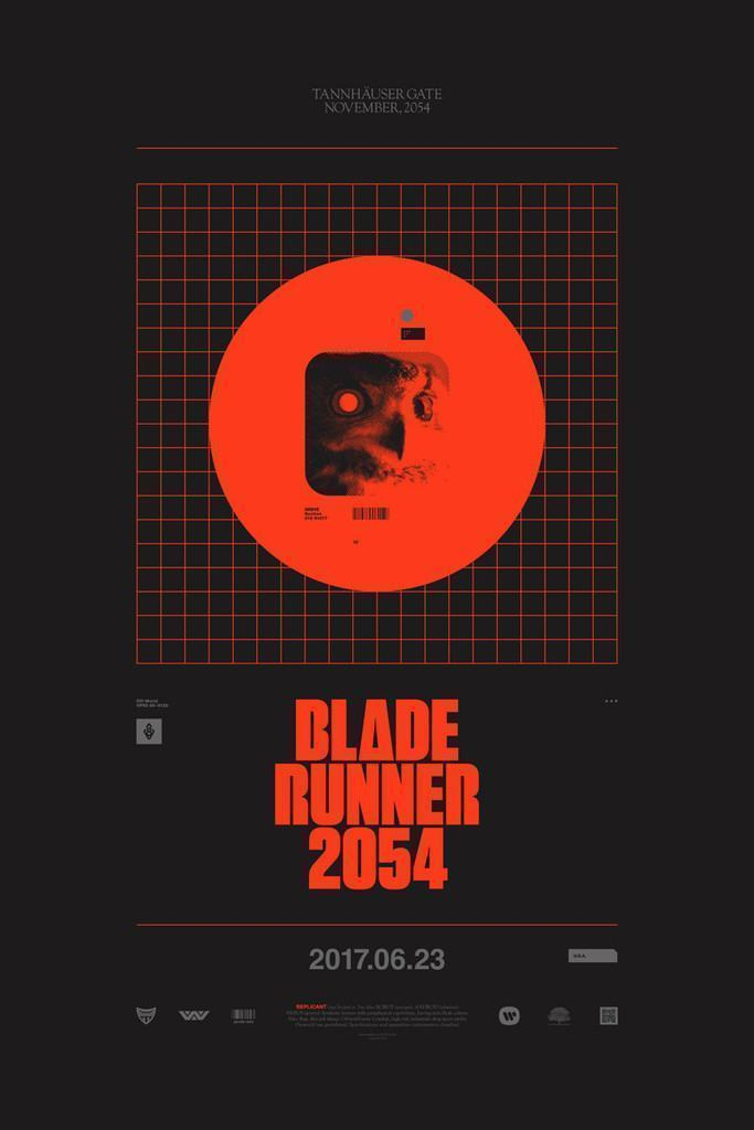 Pôster de Blade Runner 2054.