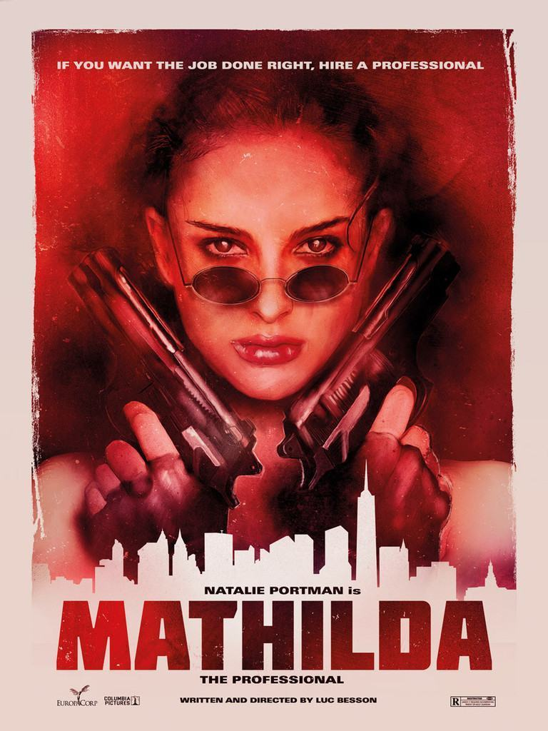 Pôster de Mathilda: A Profissional.