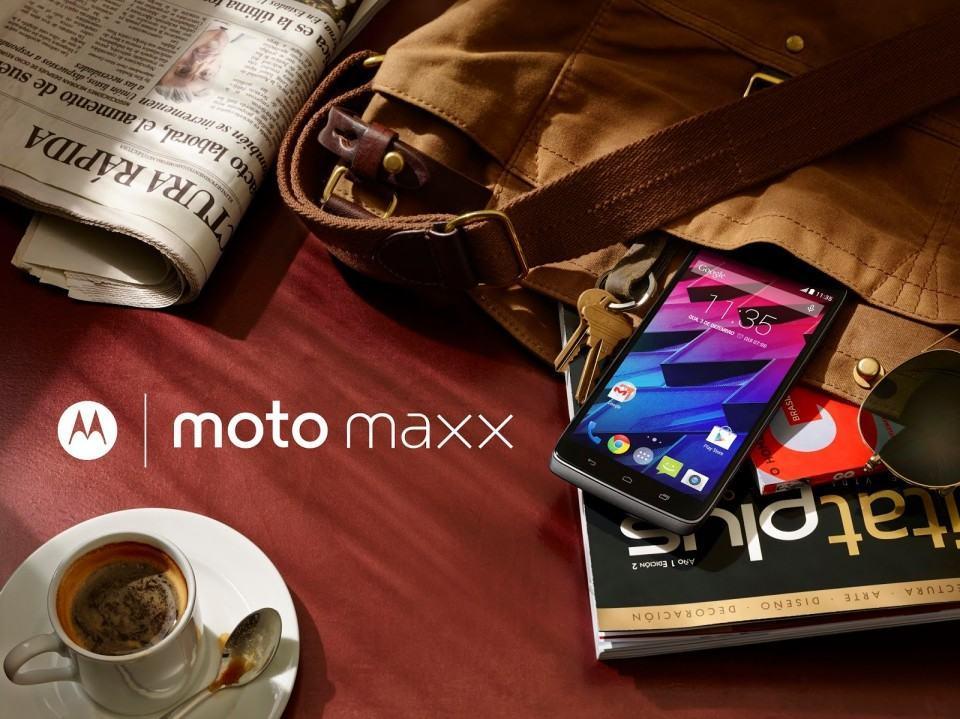 Foto de divulgação do Moto Maxx.