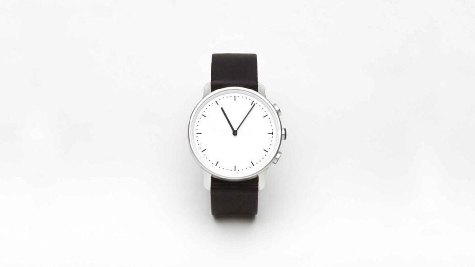 O Névo Watch é minimalista.