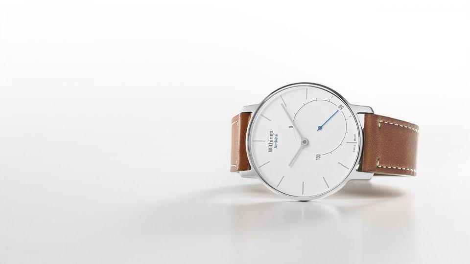 Um belo relógio.
