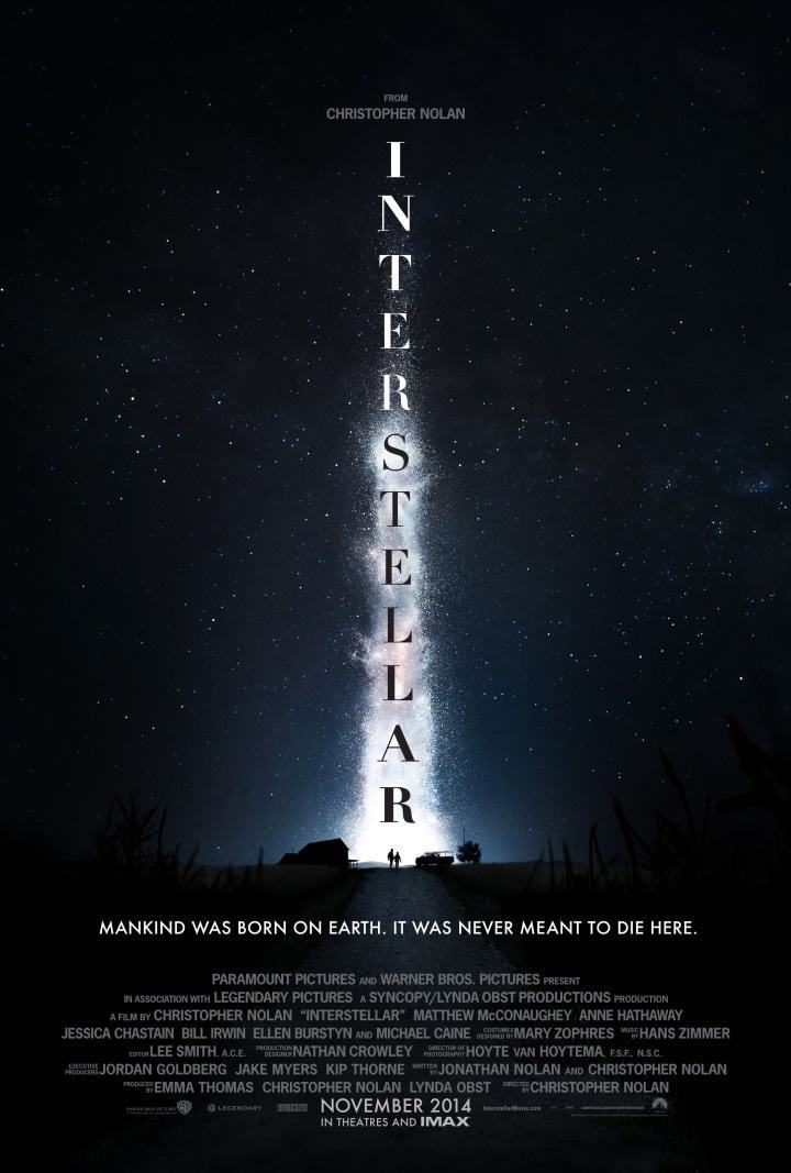 Interestelar, de Christopher Nolan.
