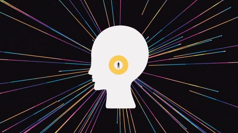 Ilustração: mente conectada