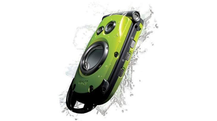Casio Canu 502S, talvez o primeiro celular à prova d'água.