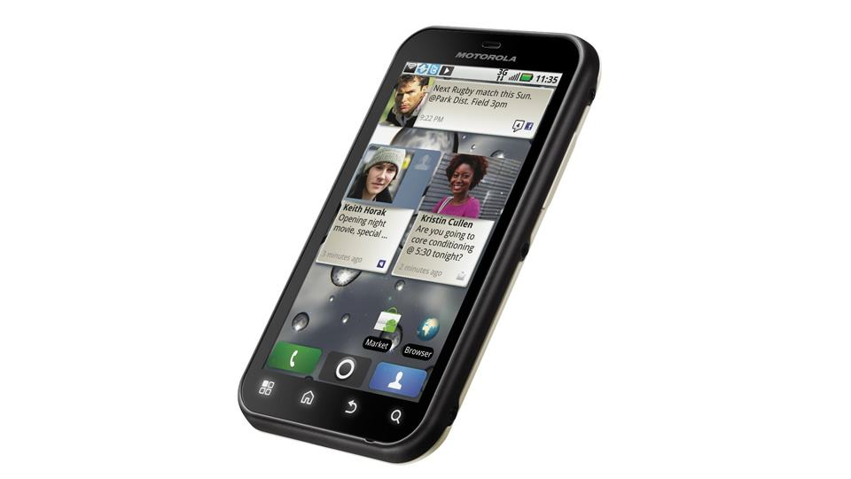 Motorola Defy, de 2011.