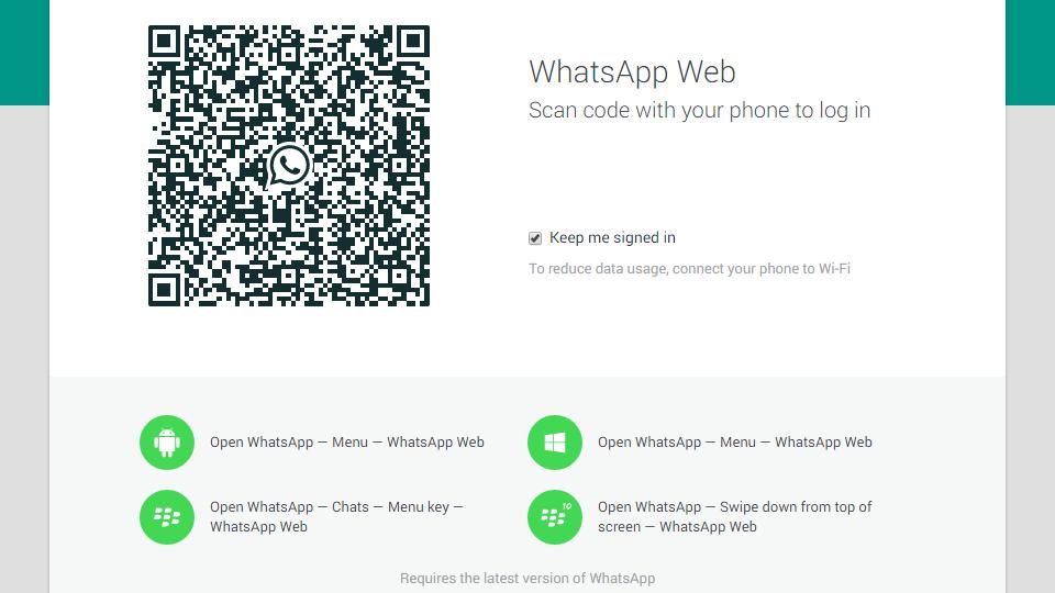 Acesse o WhatsApp pelo navegador com a solução oficial.