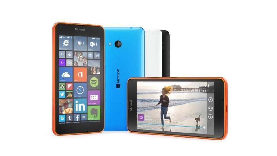 Foto de divulgação do Lumia 640.