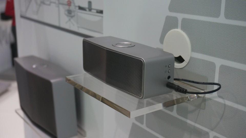 Novas caixas de som da LG.