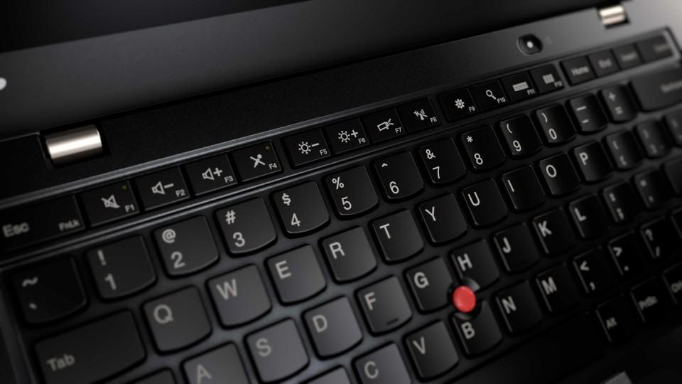 Teclado do ThinkPad X1 Carbon.