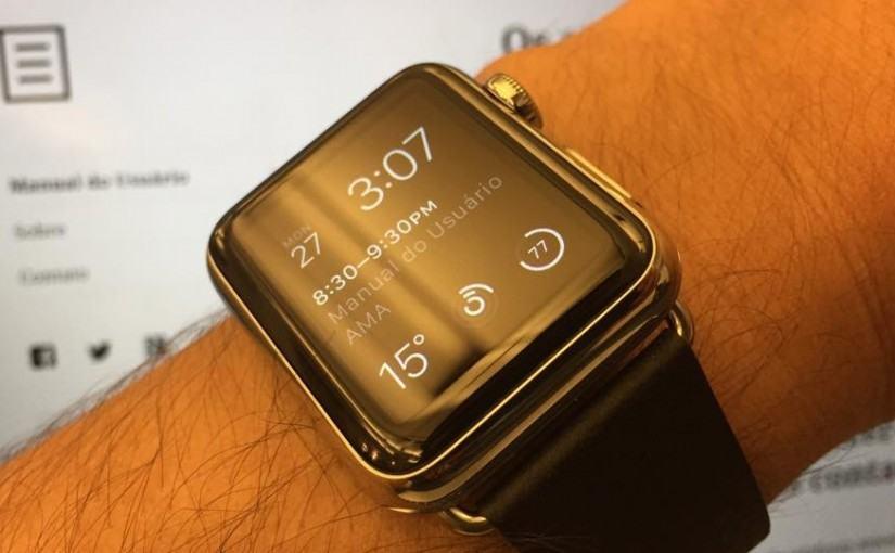 Apple Watch no Manual do Usuário.