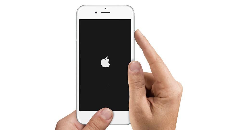 Imagem explicando como resetar um iPhone.