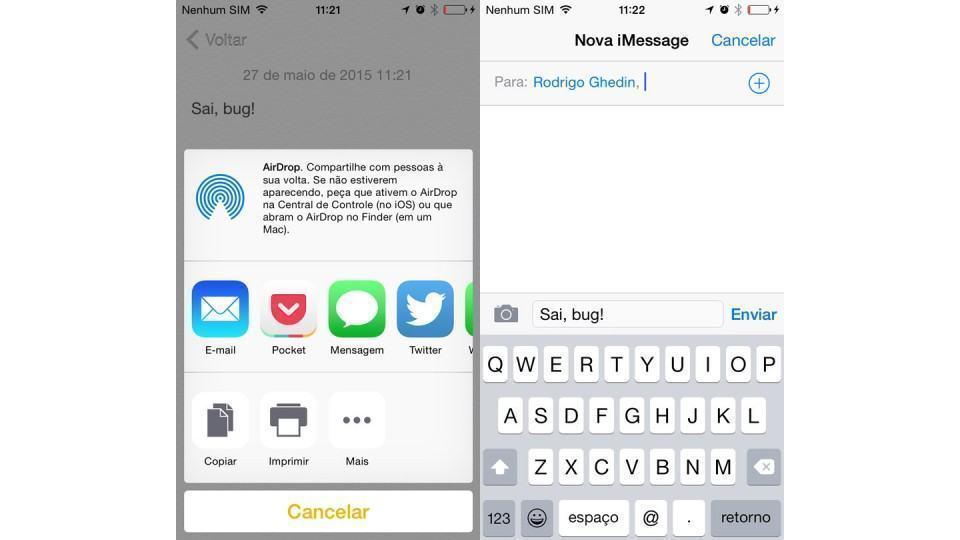 Como resolver o bug no app Mensagens do iOS.