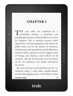 Comprar o Kindle Voyage.