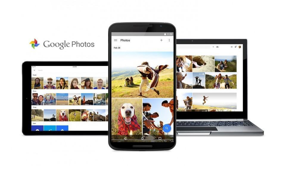 Novo app de fotos do Google.