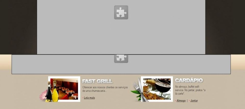 Em 2015, site de restaurante usa Flash no menu principal.