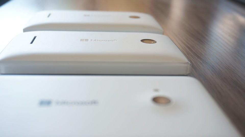Câmera do Lumia 532.