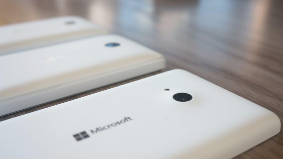 A câmera do Lumia 535, sem surpresa, é a melhor.