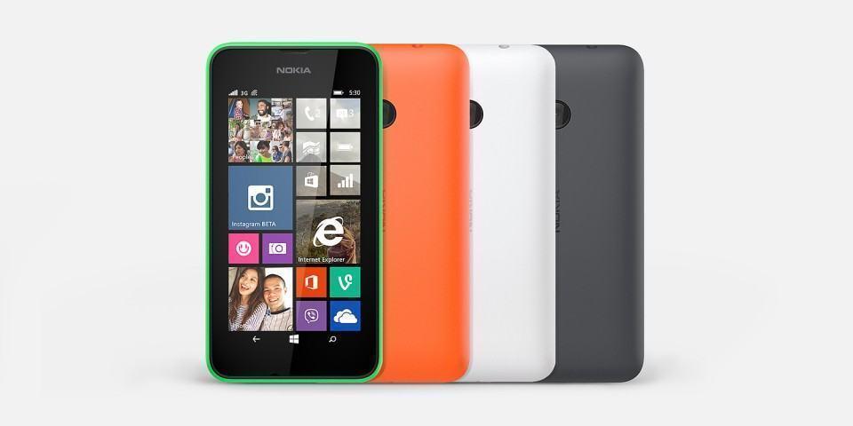 Imagem de divulgação do Lumia 530.