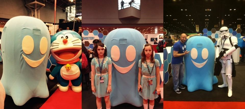 Mascote da Ghostery,