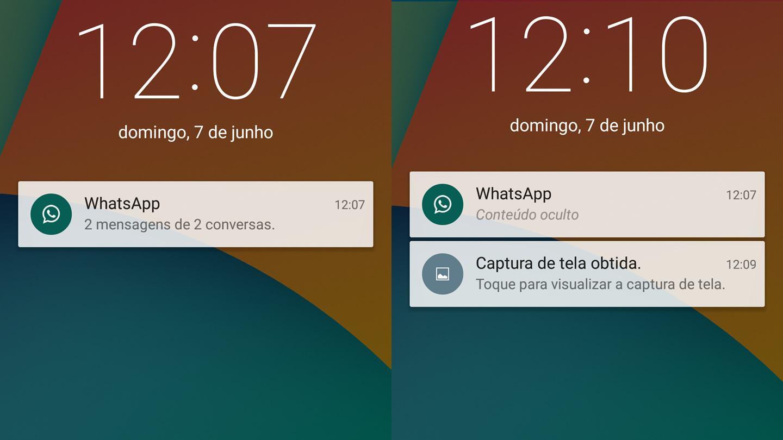 Well-known Como ocultar as notificações na tela de bloqueio do Android AA75