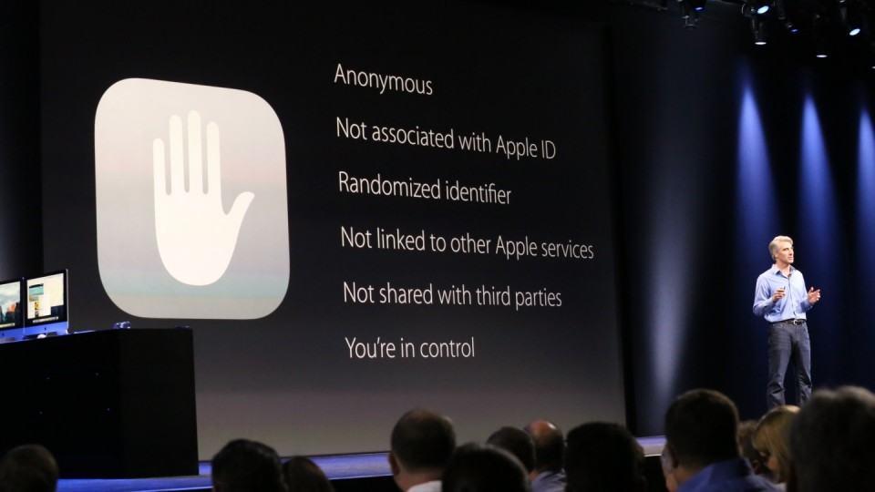 Apple garante a privacidade do usuário. Abertura da WWDC 2015.
