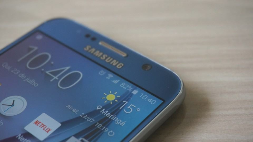 A bateria do Galaxy S6 deixa a desejar.