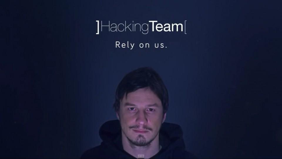 Propaganda da Hacking Team.