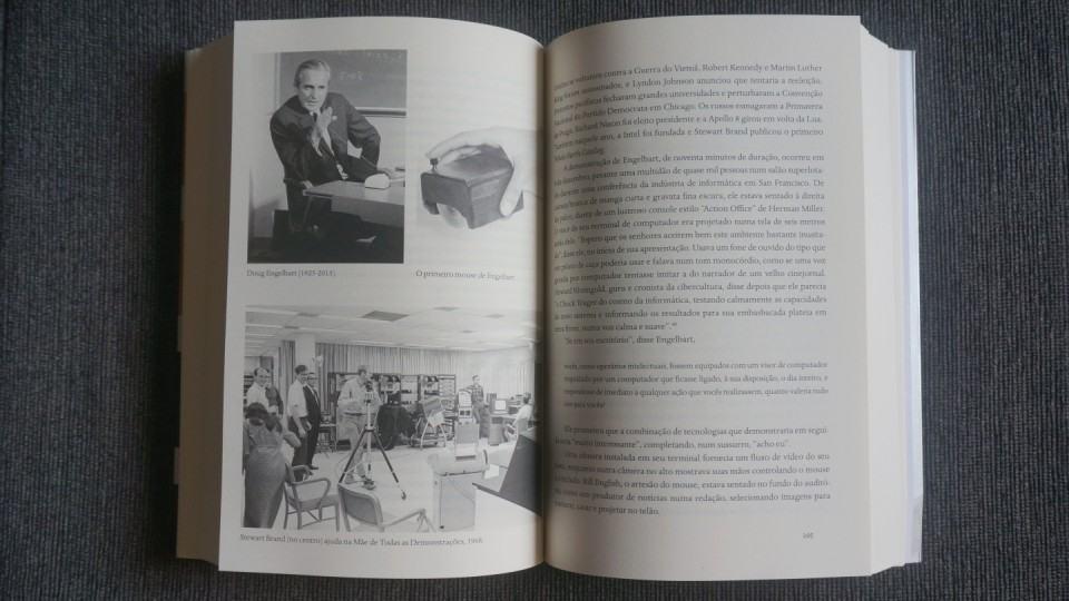 Interior do livro Os Inovadores.