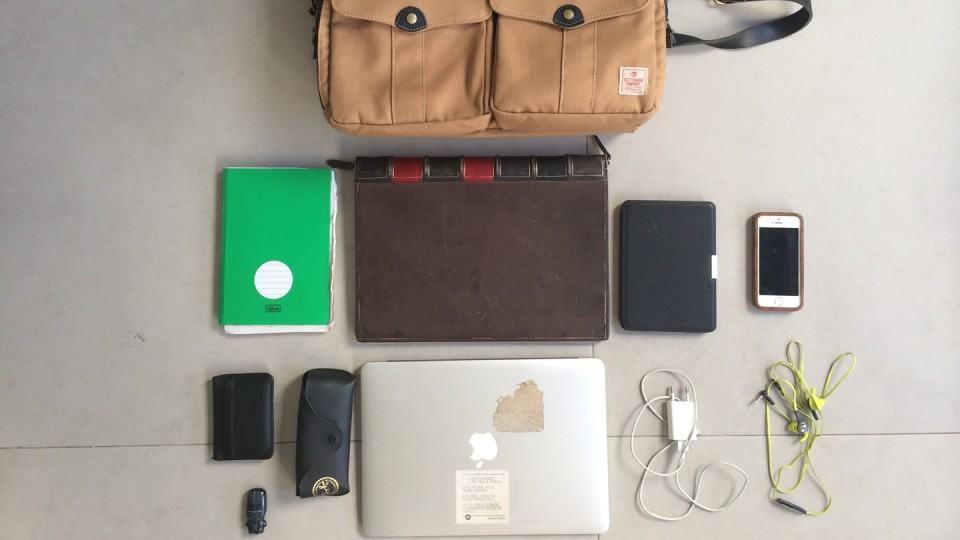 O que tem na mochila do Guilherme Valadares (sem números).