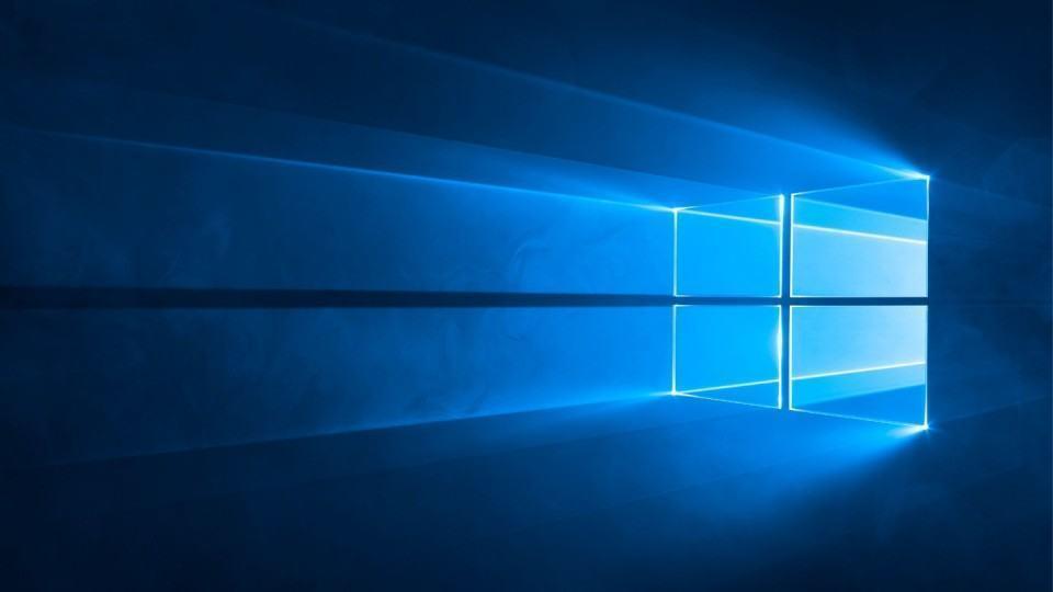 Wallpaper oficial do Windows 10.