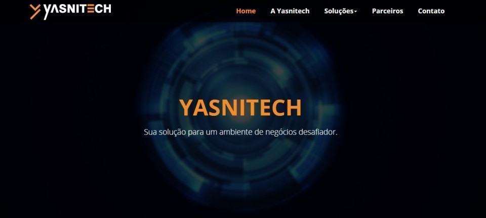Site da Yasnitech.