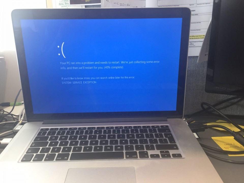 Deu ruim nesse Windows 10.