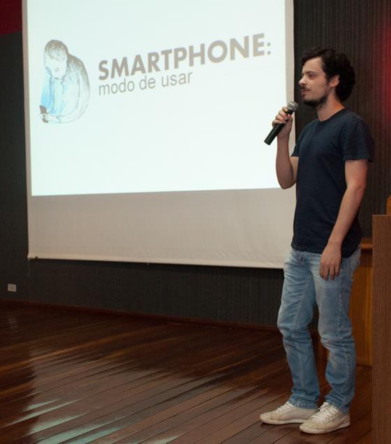 Palestra 'Smartphone: Modo de usar'.