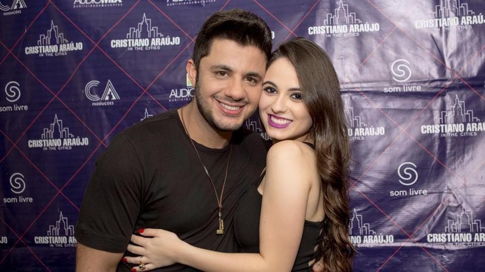 Cristiano Araújo e Allana Moraes.