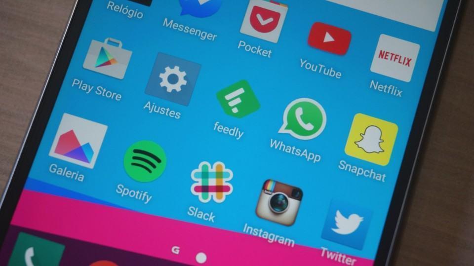 Apps em foco na tela inicial do G4.