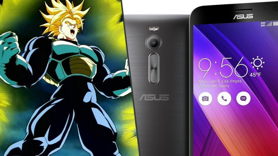 Trunks Super Super Sayajin e Zenfone 2.