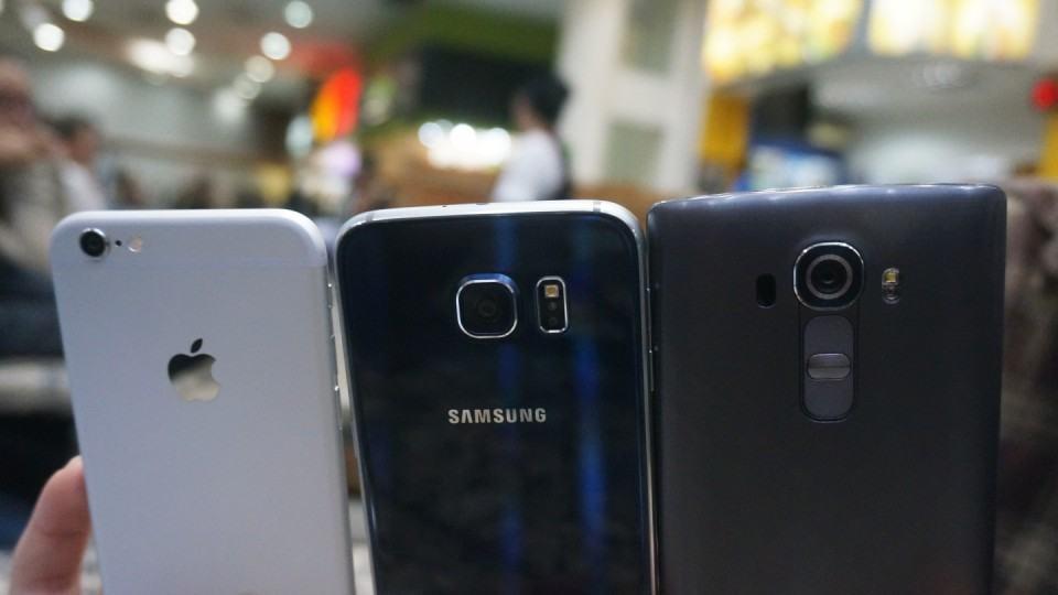 G4, Galaxy S6 ou iPhone 6: Qual smartphone tem a melhor câmera?