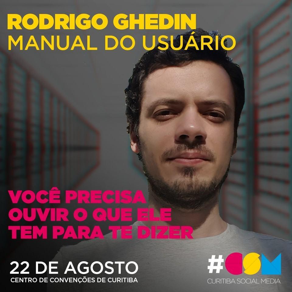 Rodrigo Ghedin no Curitiba Social Media.