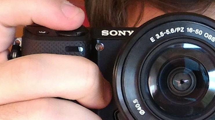 Detalhe câmera da câmera do Zenfone 2