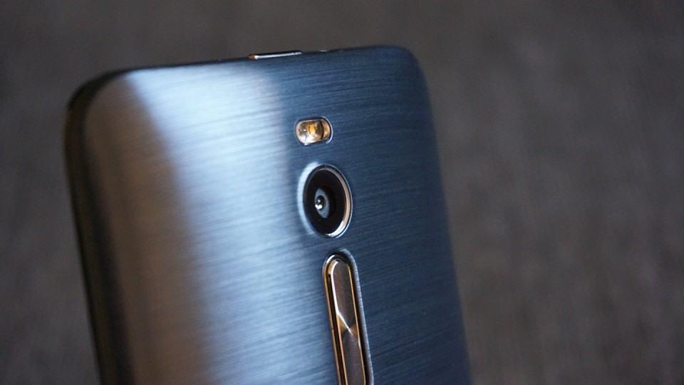 Detalhe da câmera do Zenfone 2.