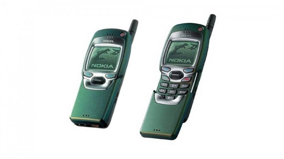 Nokia 7110, de 1999.