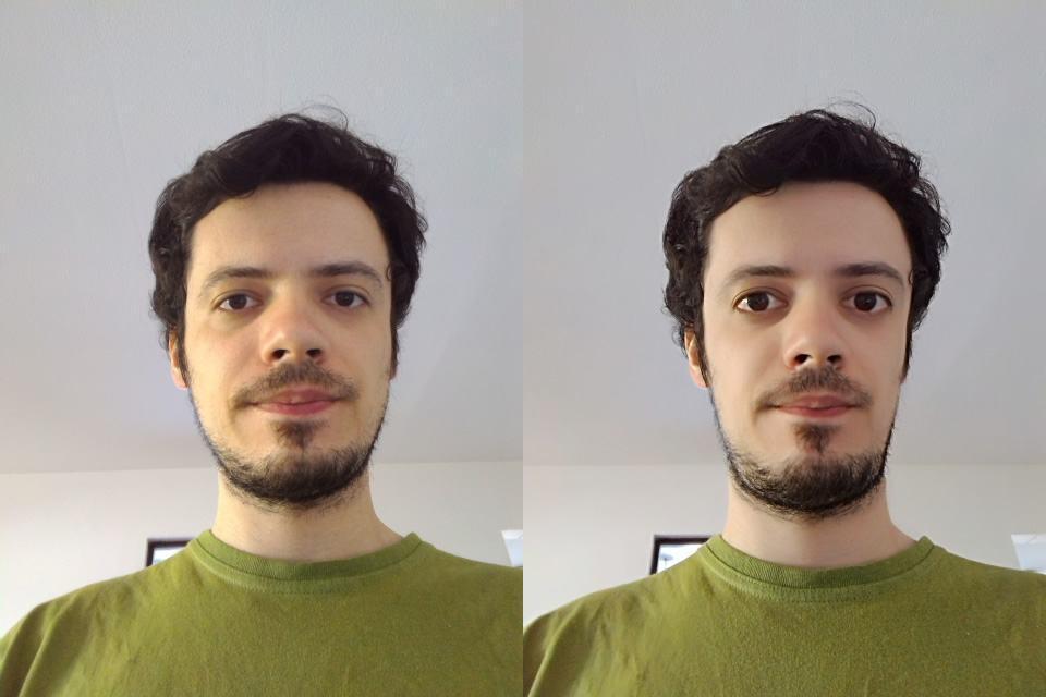 Efeitos embelezadores da câmera do Zenfone 2.