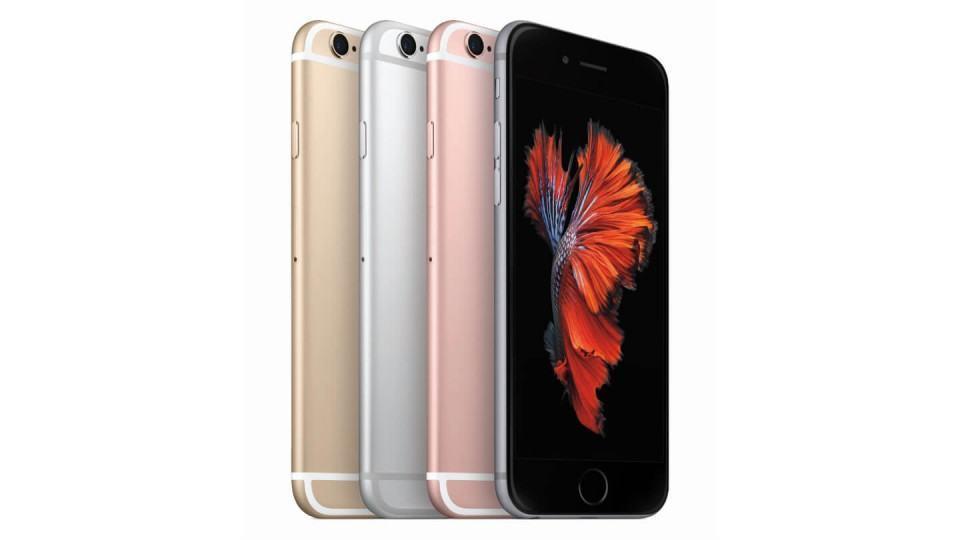 Foto de divulgação do iPhone 6s.